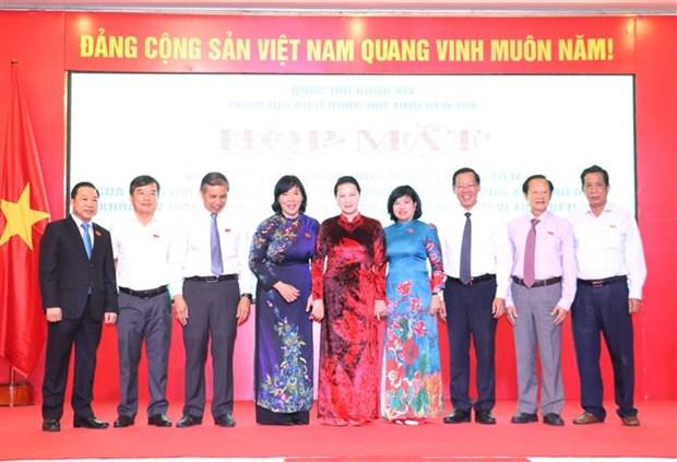 国会主席阮氏金银出席越南国会第一个大选日75周年庆典 hinh anh 2