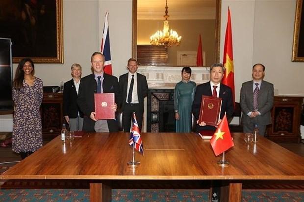 越南与英国战略伙伴关系中的转折点 hinh anh 1