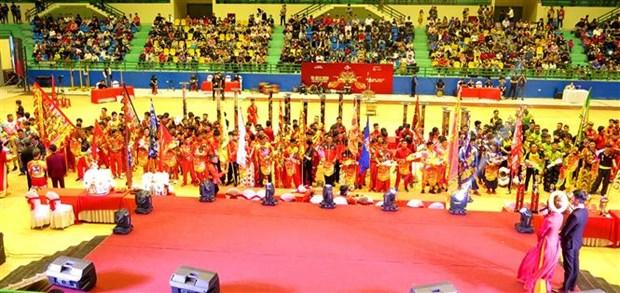 2020年顺化麒麟舞大赛吸引33支麒麟舞队参加 hinh anh 2