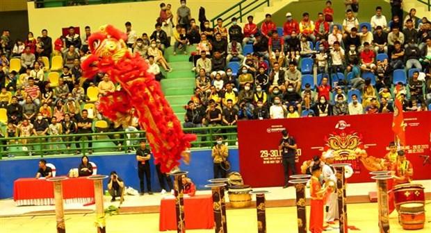 2020年顺化麒麟舞大赛吸引33支麒麟舞队参加 hinh anh 1