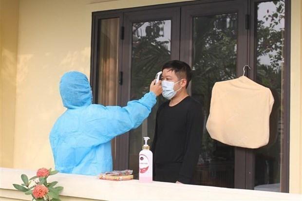 越南新增8例新冠肺炎确诊病例 均为输入性病例 hinh anh 1