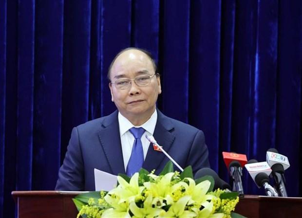 政府总理阮春福出席越南国会第一个大选日75周年庆典 hinh anh 2