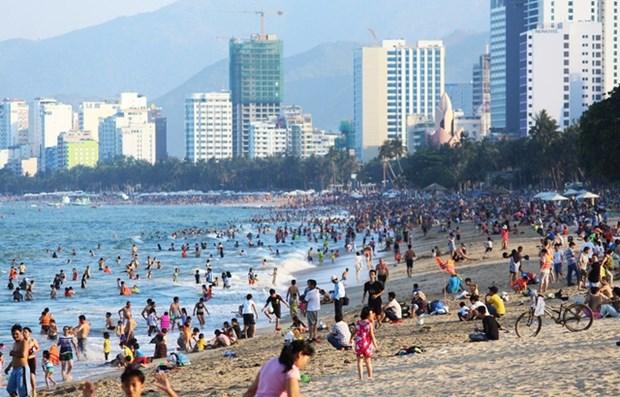 2021年元旦假期河内市接待游客量超过11.8万人次 hinh anh 2