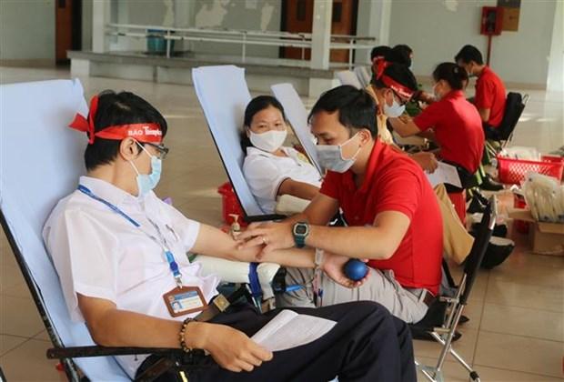 2020年无偿献血达到170万单位 hinh anh 1