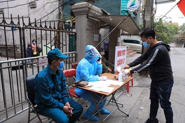 2月16日上午越南新增两例新冠肺炎确诊病例 hinh anh 1