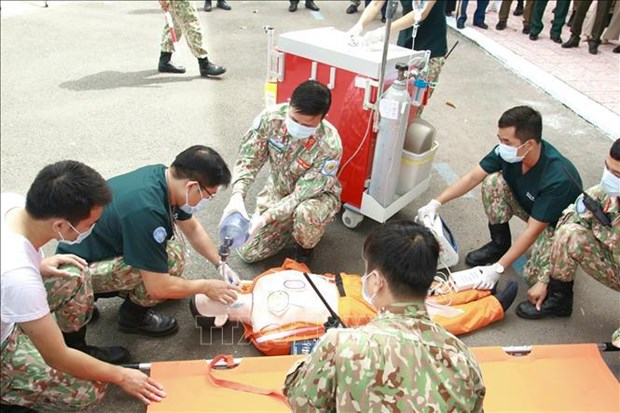 越南军队参加联合国维和行动有助于提升国家地位 hinh anh 1
