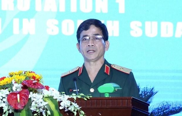 越南军队参加联合国维和行动有助于提升国家地位 hinh anh 2