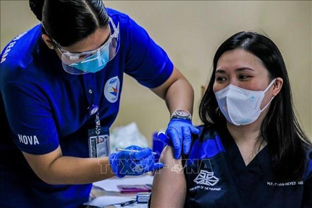 亚洲开发银行将向菲律宾提供4亿美元贷款购买新冠疫苗 hinh anh 1