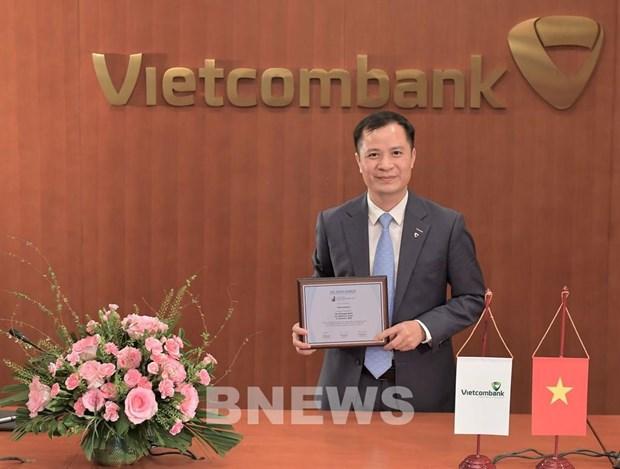 Vietcombank荣获《亚洲银行家》越南最具实力银行奖 hinh anh 1