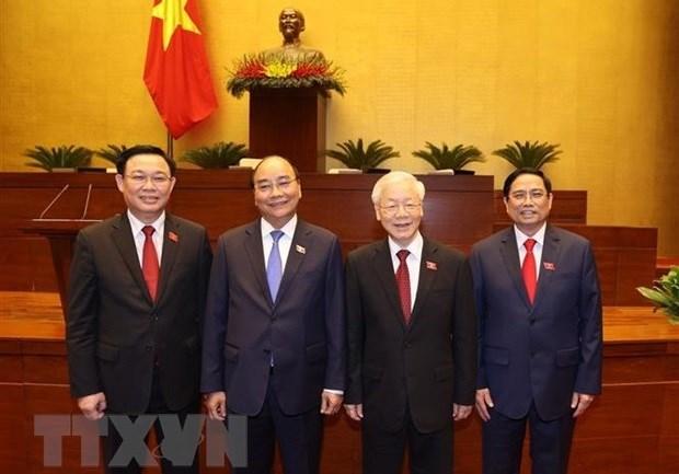 外国领导人继续发来贺电贺函 祝贺越南新一届领导人 hinh anh 1