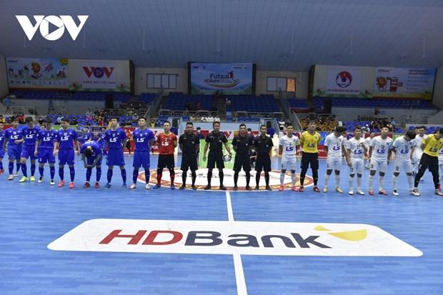 2021年HDBank杯室内五人制足球全国锦标赛决赛轮开幕 hinh anh 1