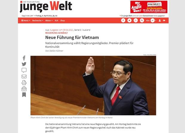 德国媒体对越南新领导班子给予好评 hinh anh 1