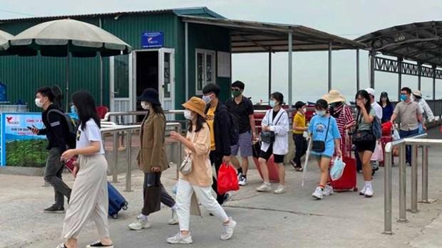 4•30和5•1假期广宁省接待游客量达近30万人次 hinh anh 1