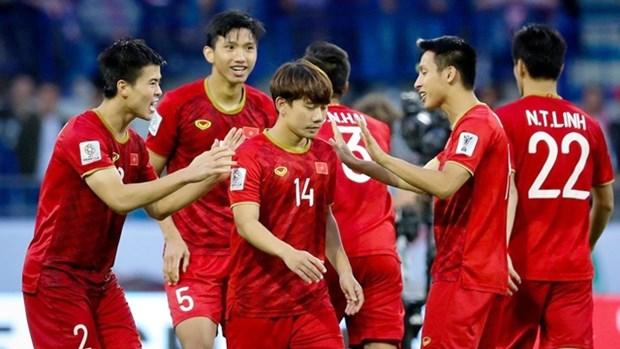 越南足球队的世界杯亚洲区预选赛的比赛时间为夜赛 hinh anh 1