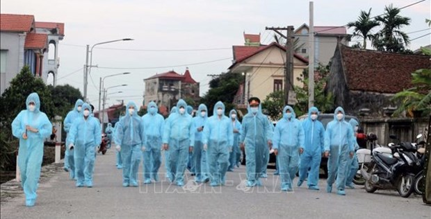 5月3日上午越南无新增新冠肺炎确诊病例 hinh anh 1