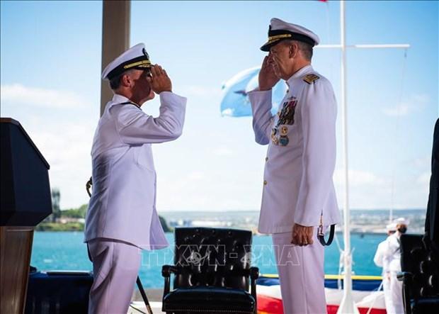 越南驻美大使何金玉出席美国印太司令就职仪式 hinh anh 2