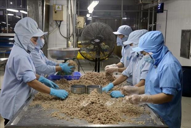 今年第二季度坚江省力争实现出口额增长12.7%的目标 hinh anh 1
