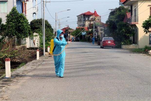 越南全国各地采取强有力措施 防控新冠肺炎疫情 hinh anh 1