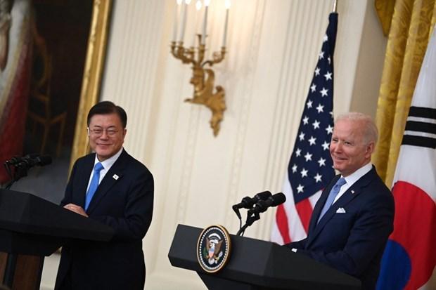 美韩支持东盟的核心作用 承诺维护东海航行和飞越自由 hinh anh 1