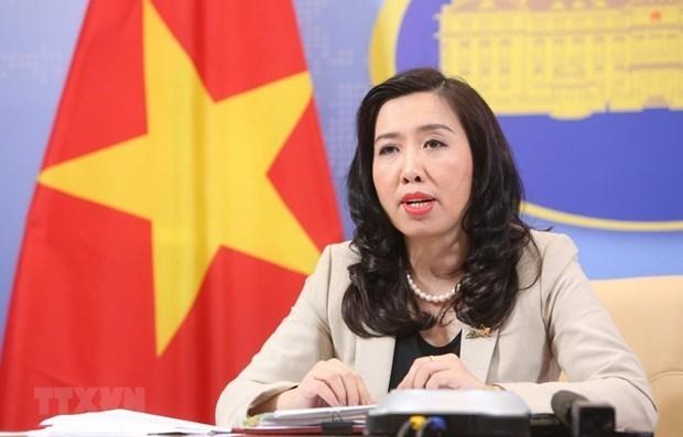 越南外交部发言人黎氏秋姮:越南呼吁各方尽快恢复中东和平进程 hinh anh 1