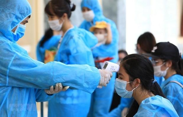 越南驻新加坡大使馆呼吁越南侨胞为疫情防控献智献力 hinh anh 1