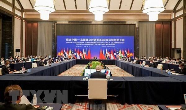 越南出席东盟—中国特别外长会 hinh anh 1