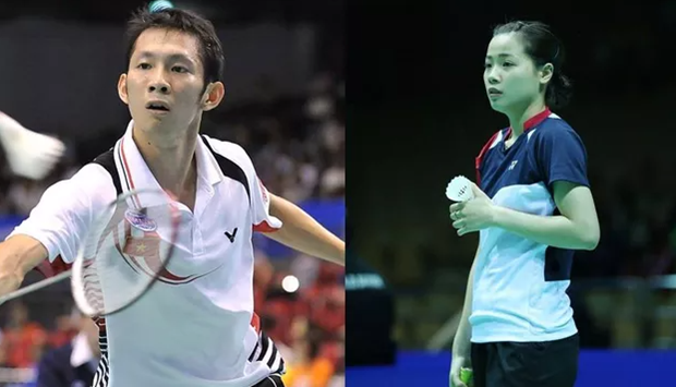 阮进明和阮垂玲获得参加2020年东京奥运会入场券 hinh anh 1