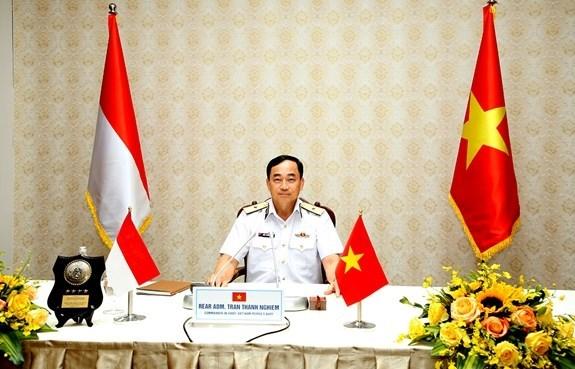 越南和印度尼西亚海军努力提高协同能力 hinh anh 1