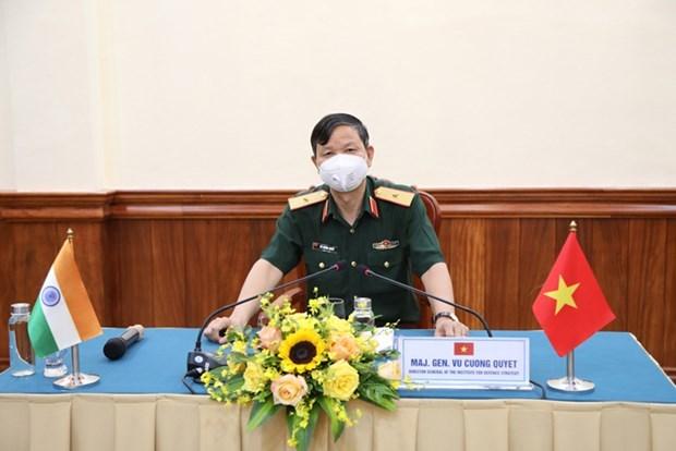 越南-印度科学研讨会以视频方式举行 hinh anh 1