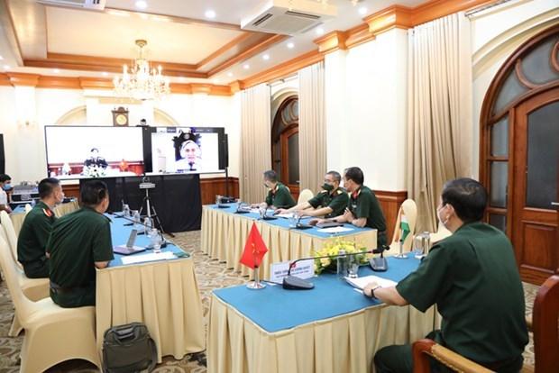 越南-印度科学研讨会以视频方式举行 hinh anh 2