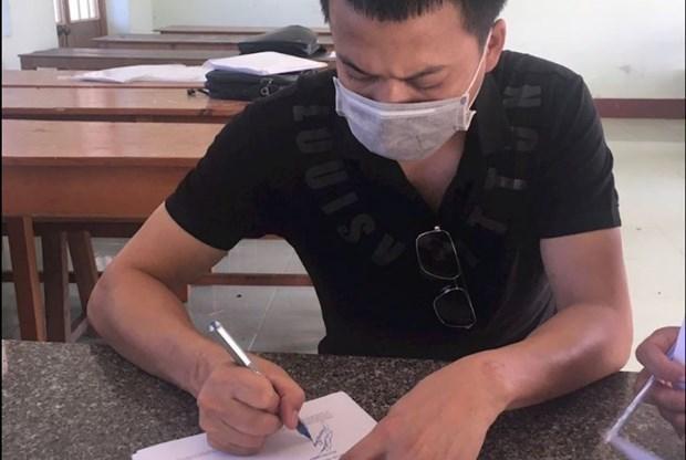 1名越南籍男子因涉嫌组织他人偷渡被富安省警方起诉 hinh anh 1
