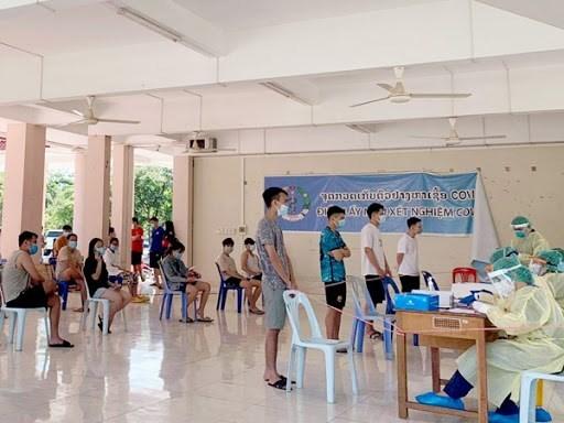 老挝各省仍然保持严格的防疫措施 hinh anh 1