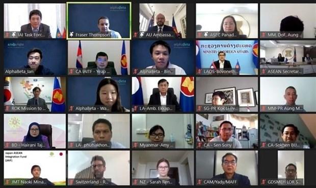开展2021-2025年东盟一体化倡议论坛在雅加达举行 hinh anh 1