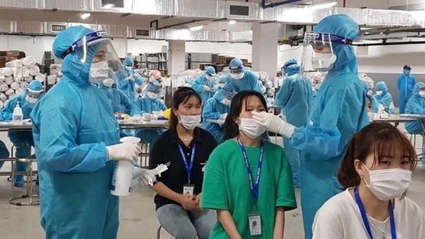6月10日上午越南新增66例本土确诊病例 累计检测样本183万个 hinh anh 1