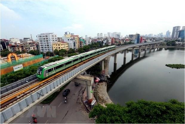 交通运输部:法国咨询商向吉灵-河东线系统安全性颁发最终证书 hinh anh 1