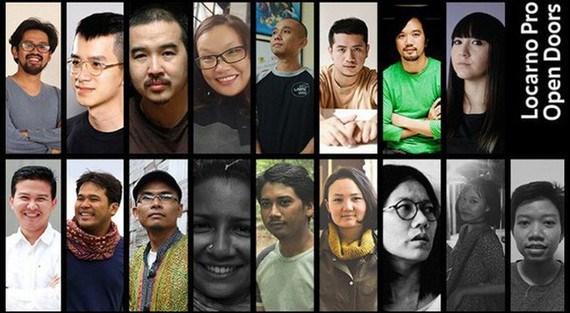 越南三名电影制片人参加 2021 年洛迦诺电影节 hinh anh 1