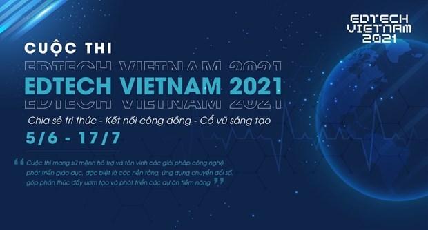 2021年越南教育科技——寻找创业之星竞赛正式启动 hinh anh 1