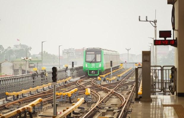 交通运输部:法国咨询商向吉灵-河东线系统安全性颁发最终证书 hinh anh 2
