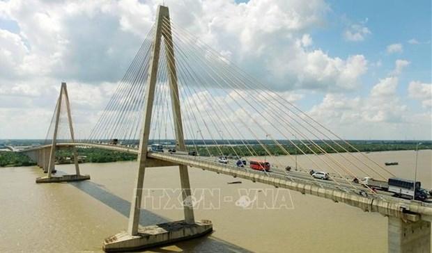越南优先对九龙江三角洲地区多个重大交通项目进行投资 hinh anh 1