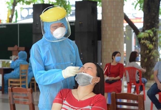 6月12日中午越南新增89例新冠肺炎确诊病例 hinh anh 1