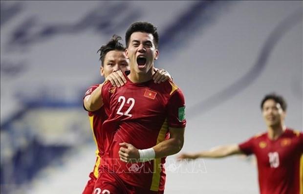 2022年卡塔尔世界杯亚洲区预选赛:越南队2-1击败马来西亚队 继续保持小组首位 hinh anh 1