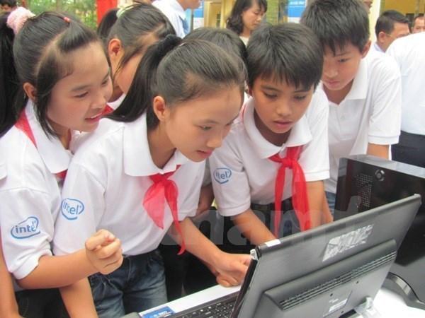 联合国儿童基金会欢迎越南批准《互联网环境儿童保护计划》 hinh anh 1