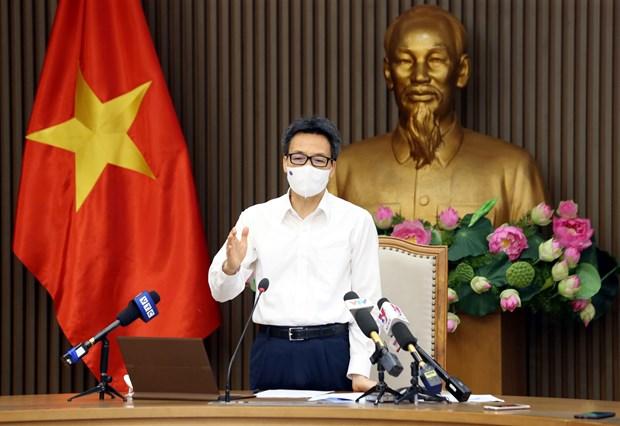 武德儋副总理:力争到8月份对全国各工业区的所有工人进行疫苗接种 hinh anh 1