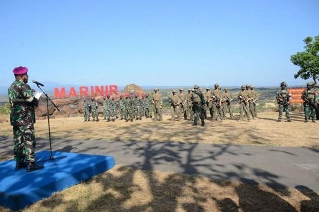 印尼和美国海军陆战队举行联合军演 hinh anh 1