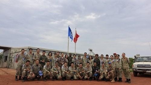 联合国维和力量视察越南野战医院的综合能力 hinh anh 1