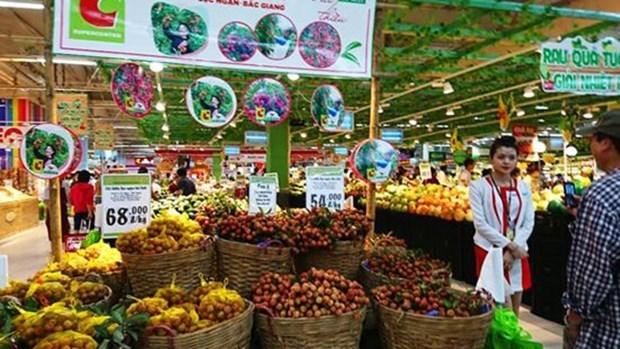 水果节在Big C超市举行 水果销售量约为200吨 hinh anh 1