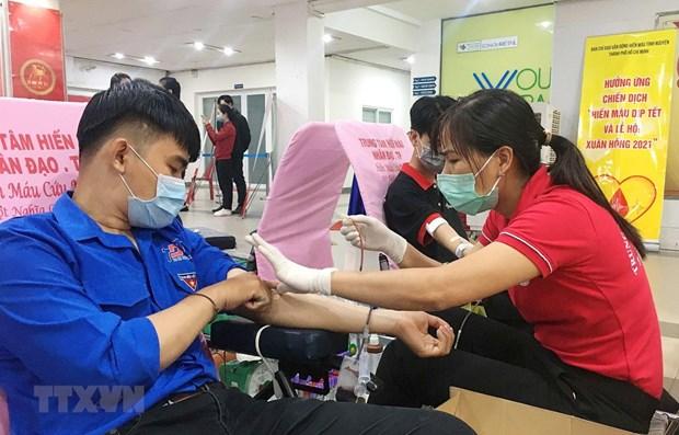 6·14世界献血者日:献血,让心继续跳动 hinh anh 2