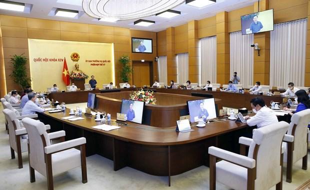 越南国会常务委员会第57次会议开幕 hinh anh 2
