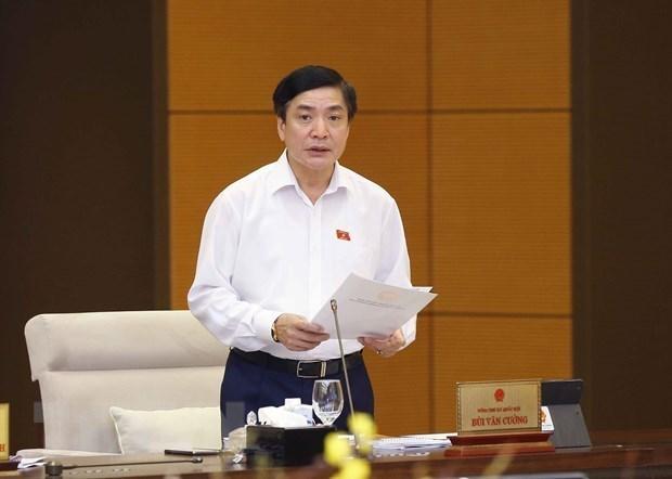 越南国会常务委员会第57次会议:对立法工作计划提出意见 hinh anh 1