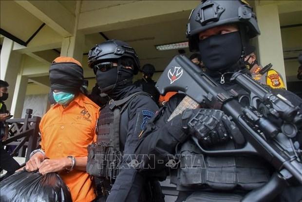 印尼抓获13名恐怖组织嫌疑分子 hinh anh 1